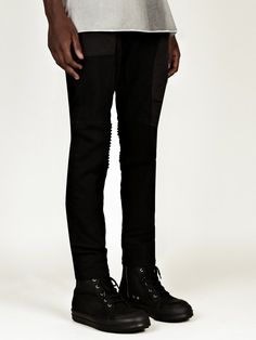 Rick Owens Men's Rear Flap Pants | oki-ni