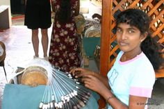 Berralu Lace making, Weligama, Sri Lanka