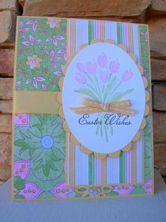 SC472 Easter Wishes by calmag - Cards and Paper Crafts at Splitcoaststampers