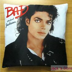 King Of Pop Michael Jackson Legendary Life Sofa Bed Backrest Pillow Cushion Cover