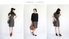 1 Dress – 3 Ways