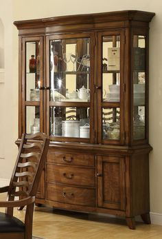 Black China Cabinet Hutch Buffet Dining Curio Furniture | Living Room/ Dining  Room | Pinterest | Black China Cabinets, China And Furniture
