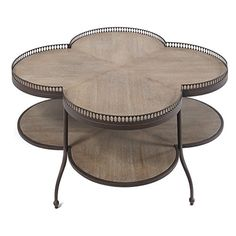 Scalloped Cocktail Table >>> You can get more details by clicking on the image. (This is an affiliate link) #FurnitureCoffeeTables