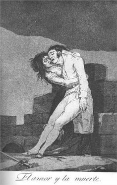 Love and Death - Francisco Goya 1799