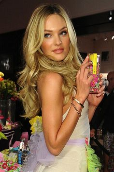 Candice Swanepoel Hair. Love her layers and color. Soooo jealous