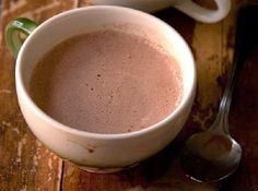 Honeyed Hot Cocoa by Saveur. Honey adds unique depth as a sweetener for hot cocoa, balanced by a pinch of salt. Best Hot Chocolate Recipes, Hot Cocoa Recipe, Cocoa Recipes, Honey Recipes, Yummy Drinks, Yummy Food, Tasty, Barista, C'est Bon