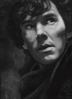 Benedict Cumberbatch #2 Art Print  *Crys* I wanna draw like this!