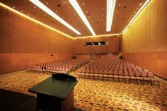 Conference Hall Theatre Style Setup With Himalyan Acoustics .