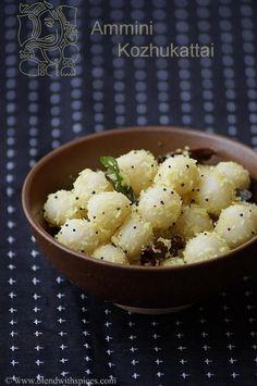 how to make ammini kozhukattai, vinayaka chaturthi recipes
