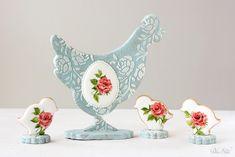 Dolce Sentire {Galletas decoradas}: La Familia Pío: Set de galletas decoradas para Pascua {Foto Tutorial}