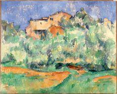 The farm of Bellevue - Paul Cézanne