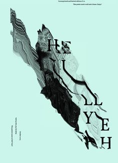Hell Yeah by Hans Christian Øren, via Behance