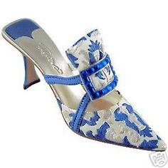 JUST-THE-RIGHT-SHOE-Evening-Emerald-Sapphire-Exclusive-Miniature-Collectible