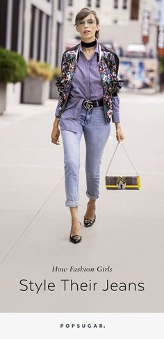 Check out these creative ways to style your jeans!
