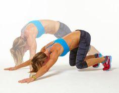Plank Challenge: Crouching Tiger Push-Ups