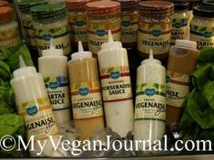 "i LOVE ""Follow Your Heart"" vegan dipping sauces and spreads! #MyVeganJournal"