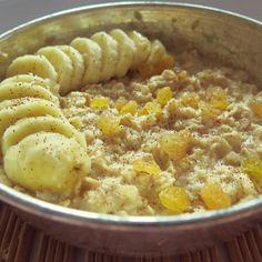 warm oatmeal