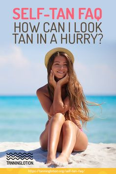 The primary advantage of selecting a fake tan as opposed to a genuine tan in the sun is that you can prevent exposing yourself to the sun's strong rays and the associated health dangers. In A Hurry, Tanning Tips, Fake Tan, Beauty Hacks, Beauty Blogs, Beauty Tips, Fair Skin, Coconut Oil, I Can