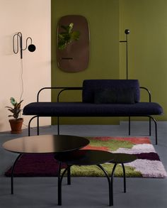 Curvy Scandinavian Furniture By Studio Finna | Trendland
