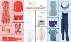 Rock pops of red, white, and blue this 4th of July with these chic, patriotic looks perfect for a day of celebration.