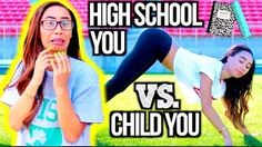 High School You Vs. Child You! - YouTube