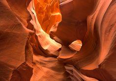 Antelope Canyon, en Arizona (Etats-Unis)