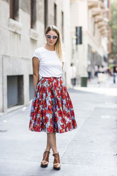 Full skirts | A Love is Blind - Milano Moda uomo 2014, women