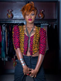 African Prints in Fashion: AFWL interviews Nigerian Rapper Eva Alordiah for store opening