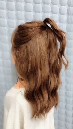 Click the hairstyle link to see more girls with long hair are very suitable for covering up their hair but we do nt tie our hair every day so we just cover up our hair in many cases it is indecent amazing hair tutorial with braids for long hair Long Braided Hairstyles, Work Hairstyles, Braided Hairstyles Tutorials, Bride Hairstyles, Summer Hairstyles, Updo Hairstyle, Braided Updo, Protective Hairstyles, Quinceanera Hairstyles
