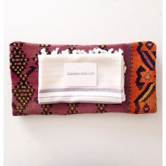 Kilim Pillow Cover and Hand Towel