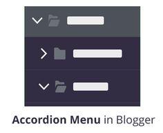 How to Add a Multi Level Vertical Accordion Menu in Blogger