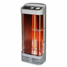 OptimusTower Quartz Heater with Thermostat