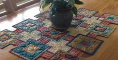 Stepping Stones Quilt Pattern For