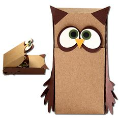 JMRush Designs: Owl Slider Hatch Treat Box