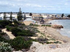 Arthur Head Reserve on the western waterfront of Fremantle, Western Australia, features picturesque Bathers Beach. Beach Art, Western Australia, Westerns, River, Outdoor, Outdoors, Beach Artwork, Rivers, The Great Outdoors