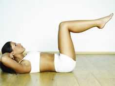 Great ab workout!!! Works upper and lower abs to get rid of the pooch!