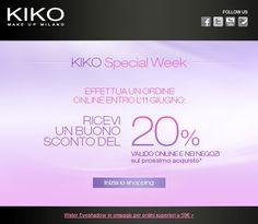 [News] KIKO - Special Week & Kiss Balm