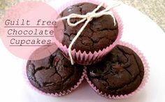 Guilt free chocolate cupcakes on the blog today, with only 91 calories who can resist?