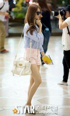 Looking sweet - ₩Pastel Blue shirt w pink shorts₩