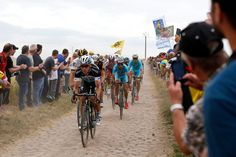 Tour de France: stage four – in pictures  With 2km still to go, Etixx QuickStep's Tony Martin makes a break for the line Photograph: Kim Ludbrook/EPA