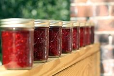Rhubarb Jam - very simple receipe