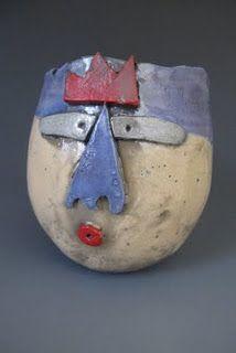 Pinch pots + African art