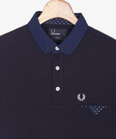 Fred Perry - Jetted Pocket Penny Collar Shirt