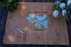 Rustic WEDDING GUEST BOOK Alternative. Personalized & Handcrafted Wedding Guest Book. Rustic Wedding Decor. Wedding Guest Board.