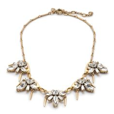 Gifts for Her: J.Crew women's spikey firefly necklace.