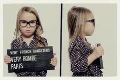 Lunettes enfants Very French Gangsters  nominés pour le Silmo d'or