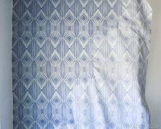 DIY Temporary Fabric Wallpaper vintagerevivals.com-13
