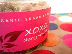 XOXO Organic Sugar Scrub by rawolive on Etsy