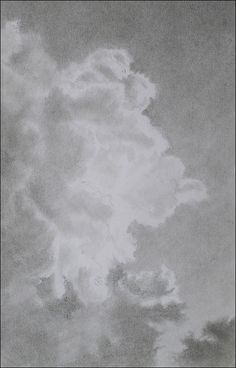 How to Draw Perfect, Luminous Clouds with Graphite Pencils