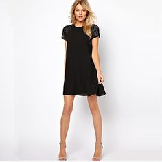 style euro sexy robe à manches courtes de aiai femmes – EUR € 12.99